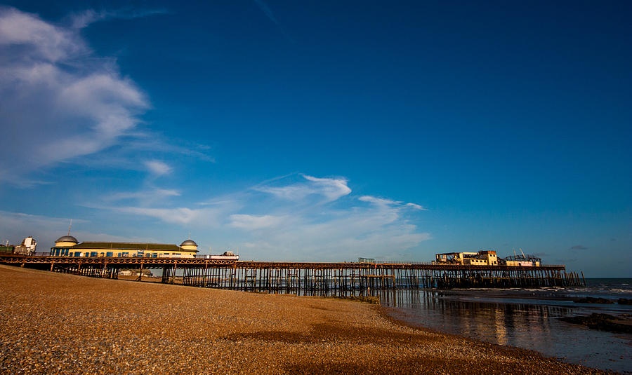 Beach Photograph - Hastings Pier by Dawn OConnor