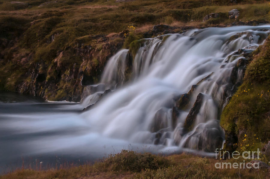 Waterfall Photograph - Waterfall by Jorgen Norgaard