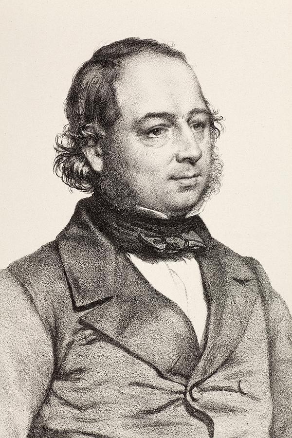 1849 John Gould Artist & Ornithologist Photograph by Paul ... John Gould Md Birmingham