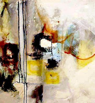 Abstract Expressionism Painting - Untitled by Brooke Wandall