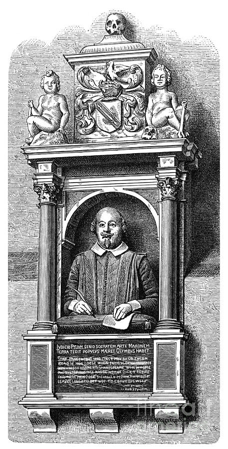 16th Century Photograph - William Shakespeare by Granger
