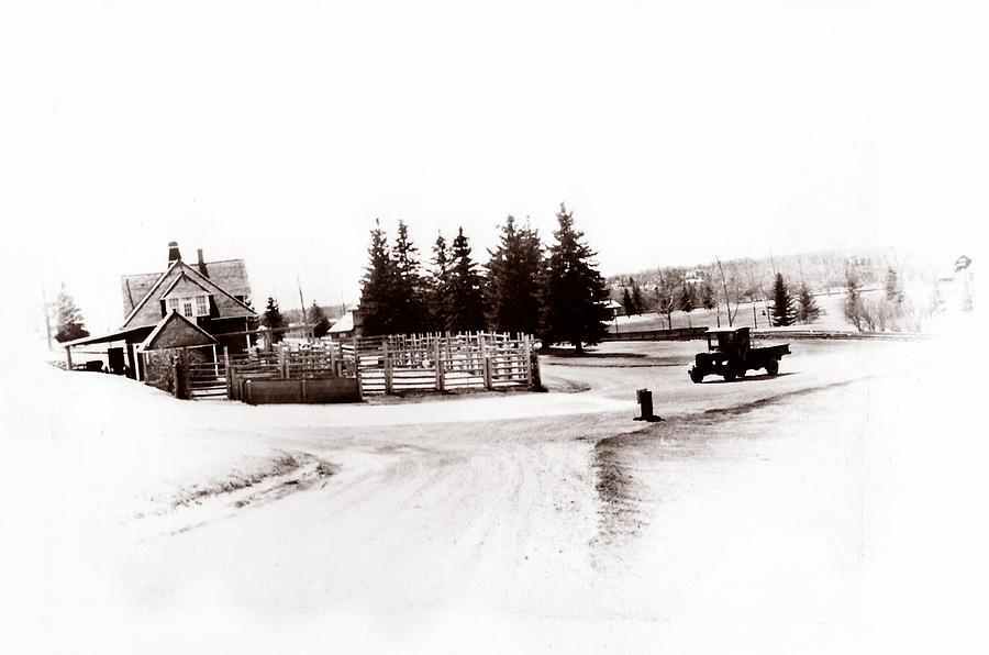 Farm Photograph - 1900 Farm by Marcin and Dawid Witukiewicz