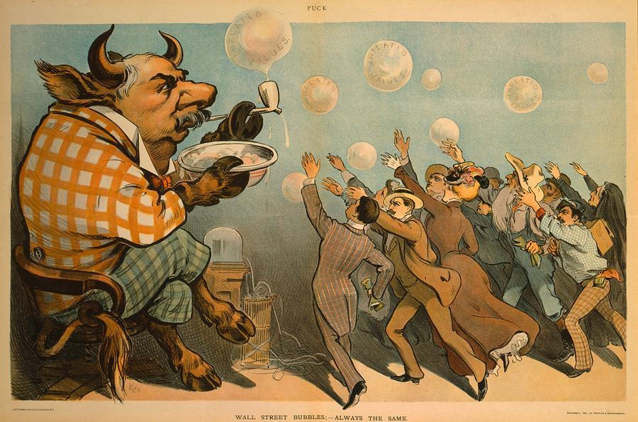 1901 Caricature Of John Pierpont Morgan Photograph By Everett