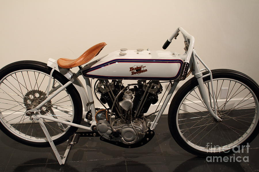 1924 Harley-davidson - The Early Years - 7d17181 Photograph by ...
