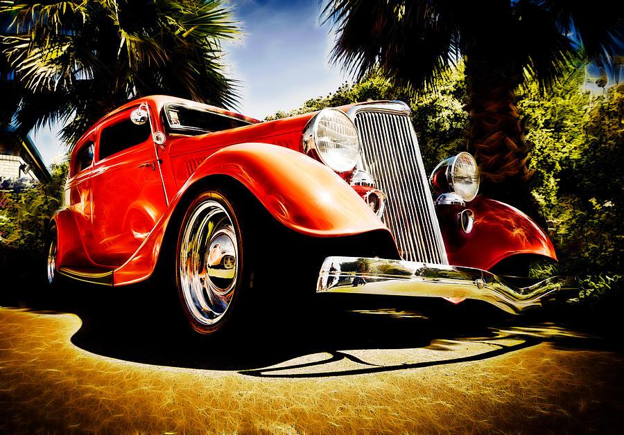 Hot Rod Photograph - 1930s Ford Tudor by Phil motography Clark