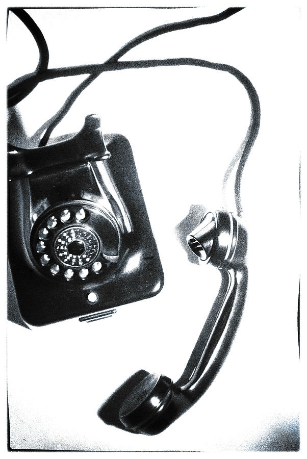 Telephone Photograph - 1930s Telephone by David Ridley
