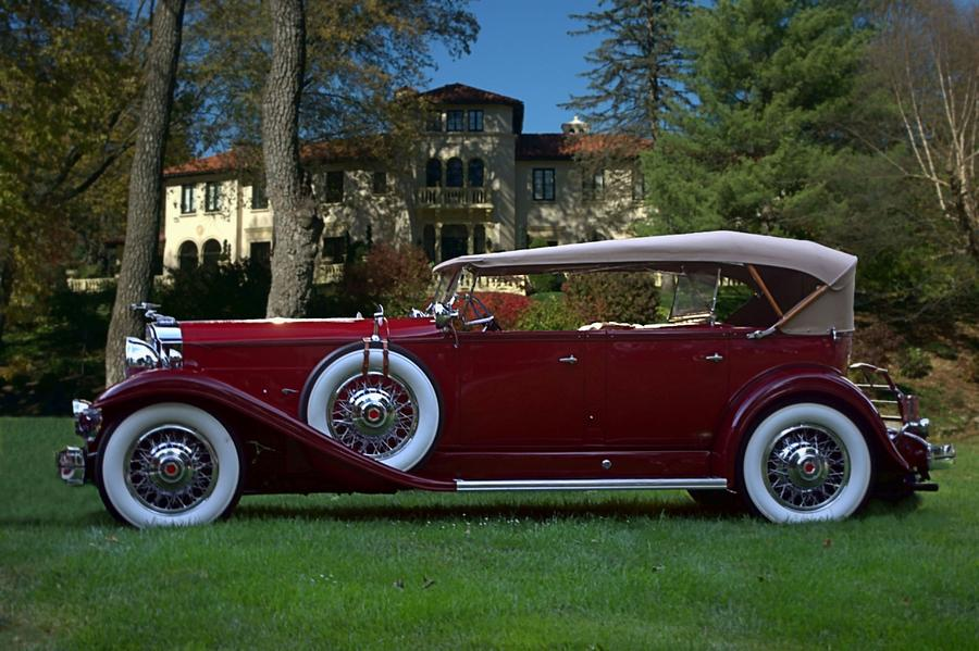 1932 Packard 903 Deluxe Eight Sport Phaeton Photograph By Tim Mccullough
