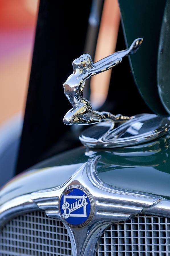 1928 Buick Hood Ornament 2 by Jill Reger |Vintage Buick Hood Ornaments