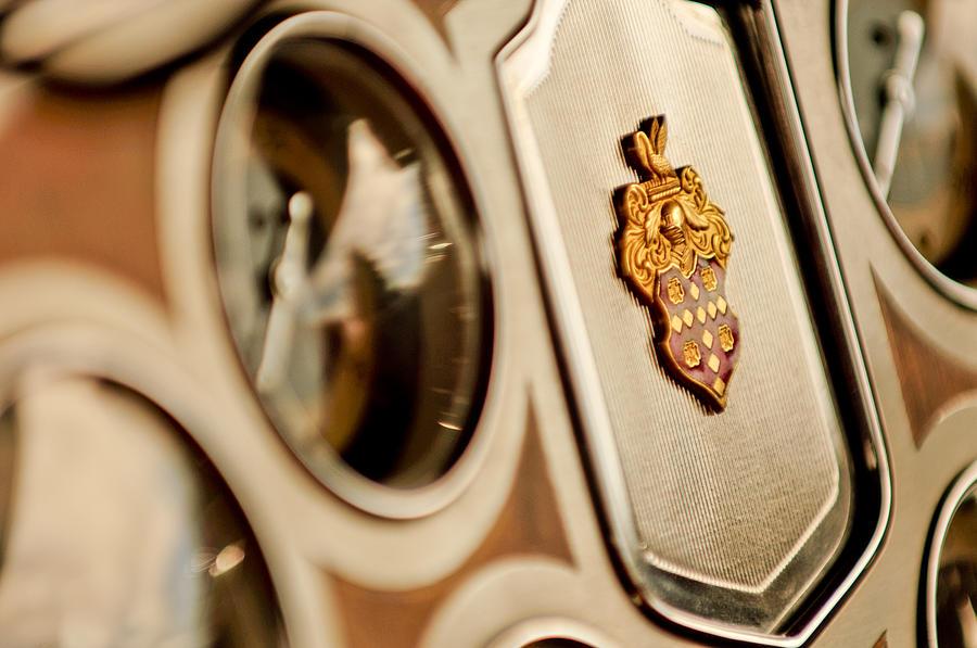 Emblem Photograph - 1934 Packard 1104 Super Eight Phaeton Emblem by Jill Reger
