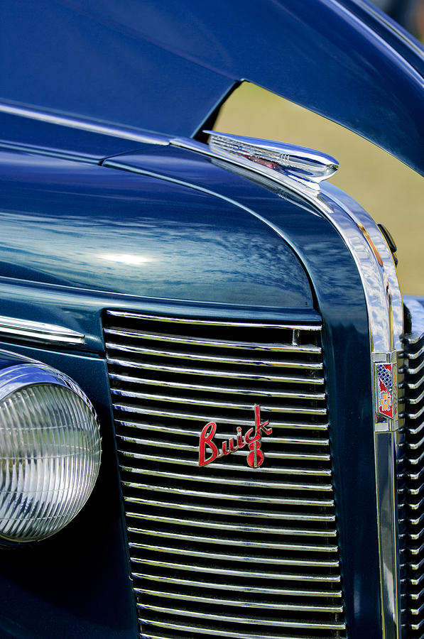 1937 Buick Photograph - 1937 Buick Hood Ornament by Jill Reger