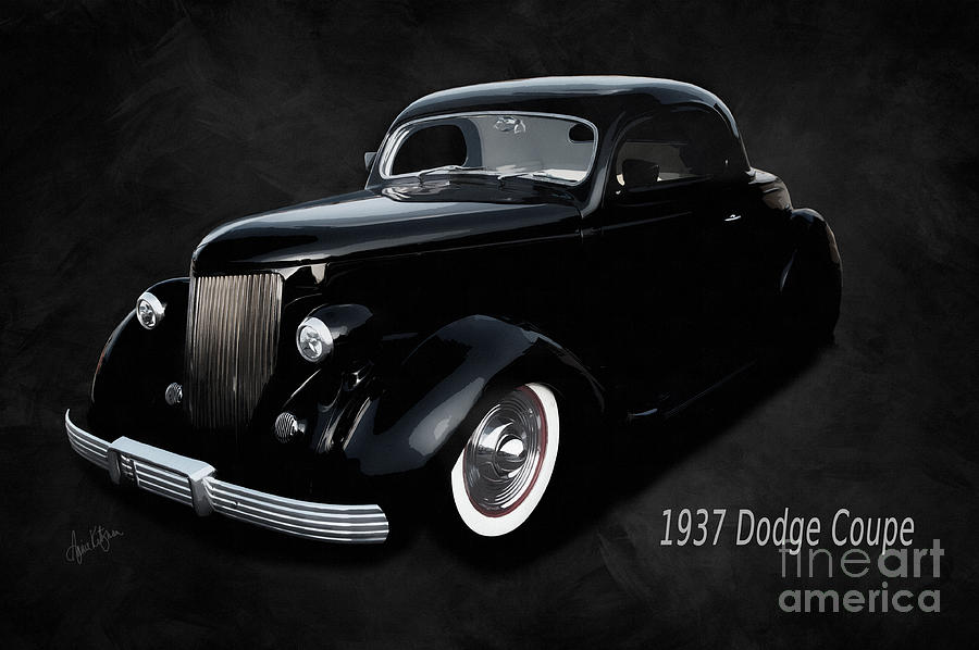 Dodge Photograph - 1937 Dodge Coupe  by Anne Kitzman