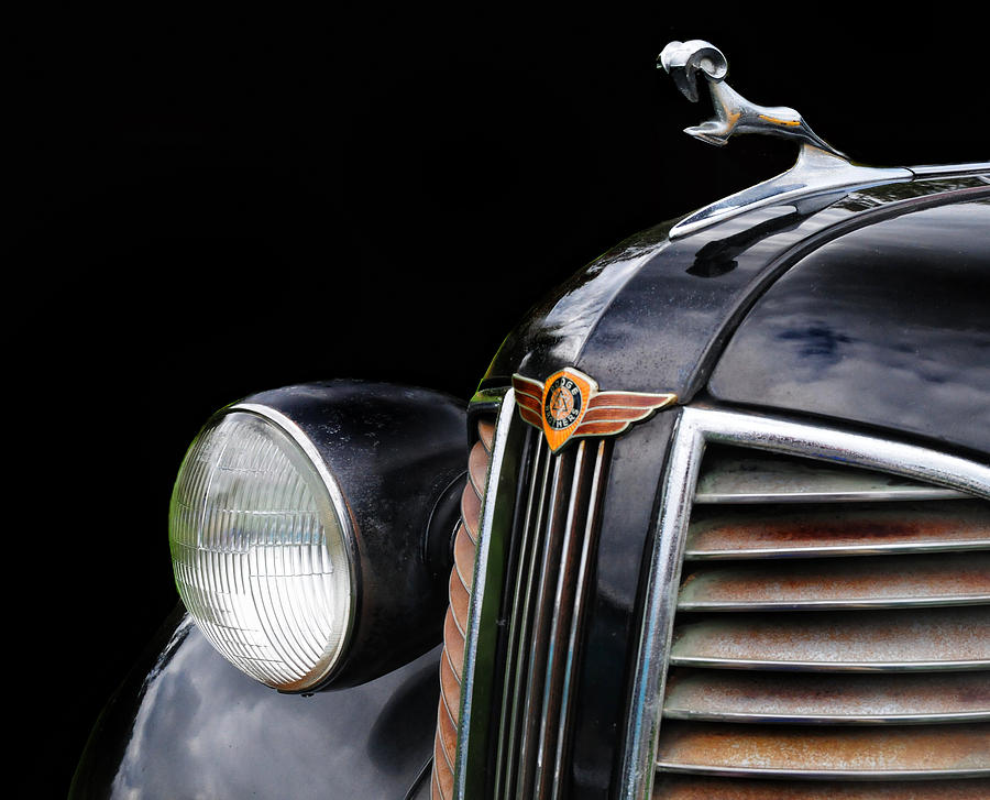 1938 Dodge Hood Ornament Photograph By Dave Mills