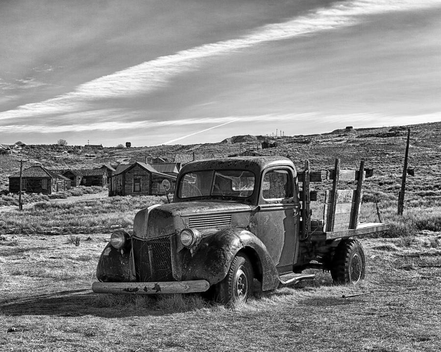 1939 Photograph - 1939 Ford Truck Bodie Ca by Troy Montemayor