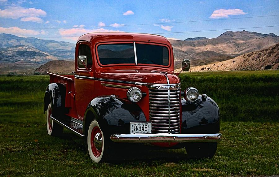 1940 Chevy Truck >> 1940 Chevrolet Pickup Truck Photograph By Tim Mccullough