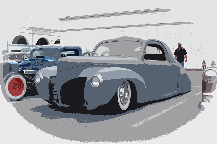 Hot Rods Photograph - 1940 Lincoln by Steve McKinzie