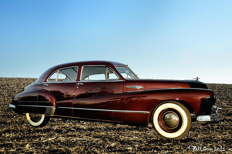 1948 Photograph - 1948 Buick Eight Super by Bill Cannon