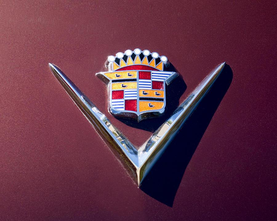 1949 Cadillac Emblem Photograph By Jill Reger