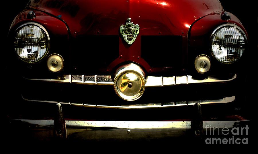 Cars Photograph - 1949 Crosley  by Steven Digman