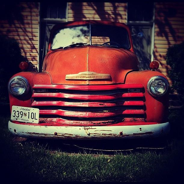 1950s Photograph - #1950s #chevy 3100 Truck - Photo 2 by Jason Miller