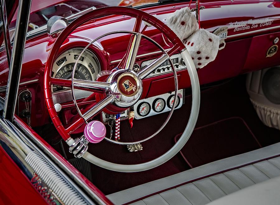Cars Photograph - 1953 Ford Crestline Victoria by Susan Candelario