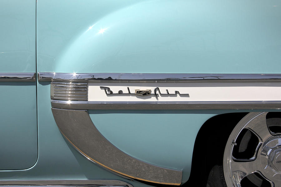Transportation Photograph - 1954 Chevy Belair by Mike McGlothlen