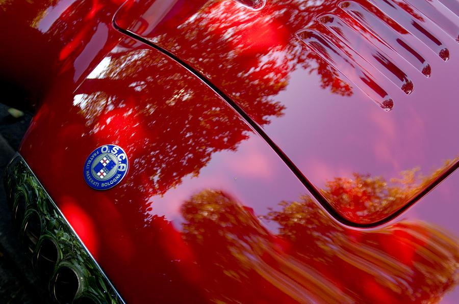 1954 O.S.C.A. MT4 Maserati Hood Emblem by Jill Reger