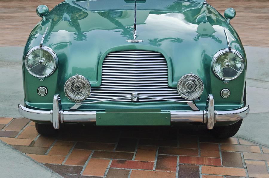 Classic Car Photograph - 1955 Aston Martin by Jill Reger