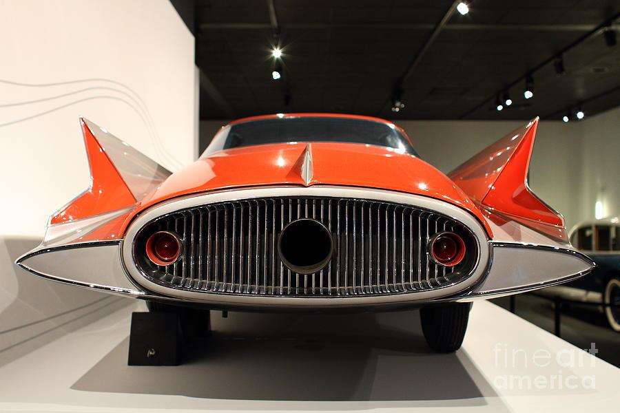 Transportation Photograph - 1955 Ghia Streamline X Gilda Concept Car - 7d17264 by Wingsdomain Art and Photography