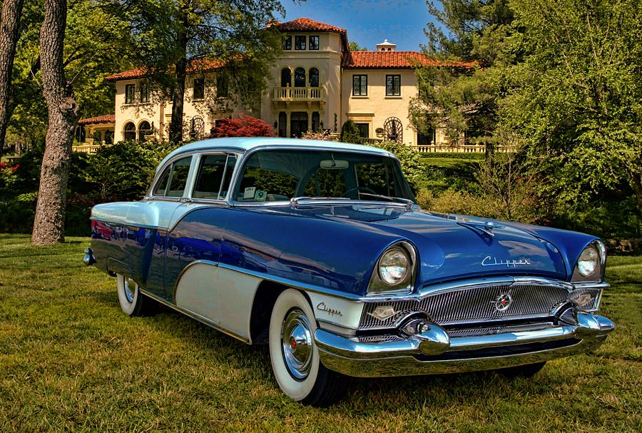 1955 Photograph - 1955 Packard Clipper by Tim McCullough