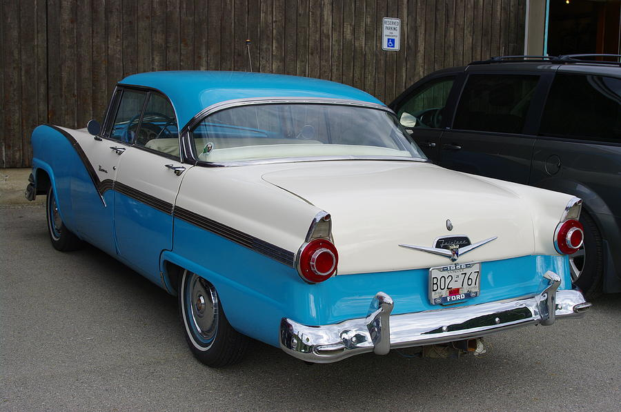 1956 Ford Fairlane Photograph By John Greaves