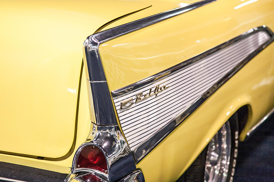 Car Photograph - 1957 Chevy Belair by Kathleen Nelson