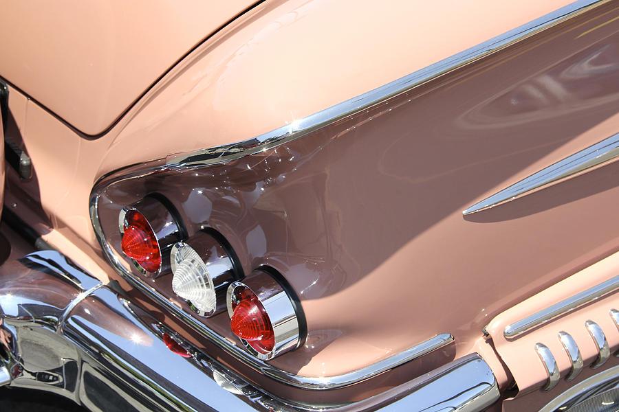 Transportation Photograph - 1958 Chevrolet by Mike McGlothlen