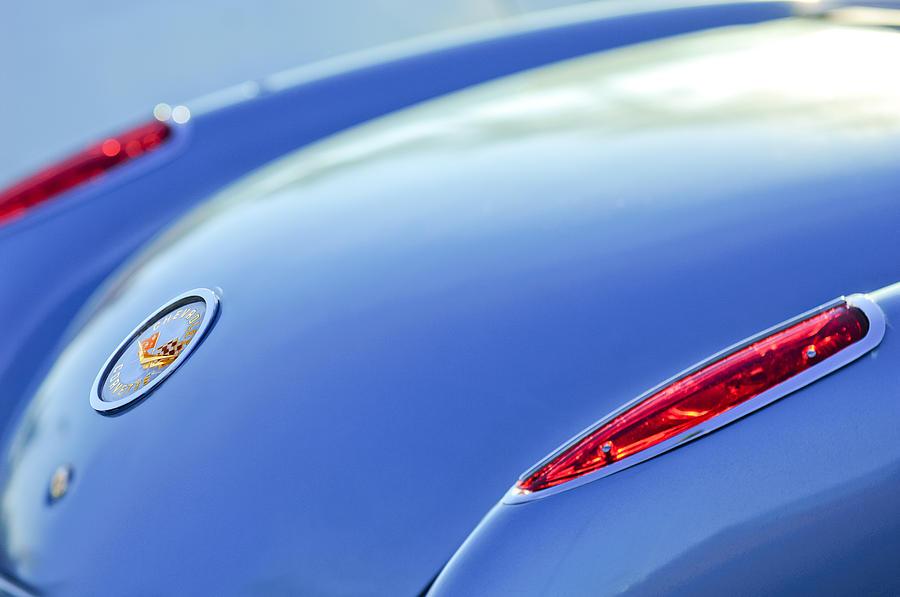 1959 Chevrolet Corvette Photograph - 1959 Chevrolet Corvette Taillight Emblem by Jill Reger