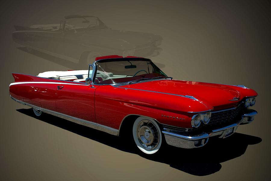 1960 Cadillac Eldorado Convertible Photograph by TeeMack