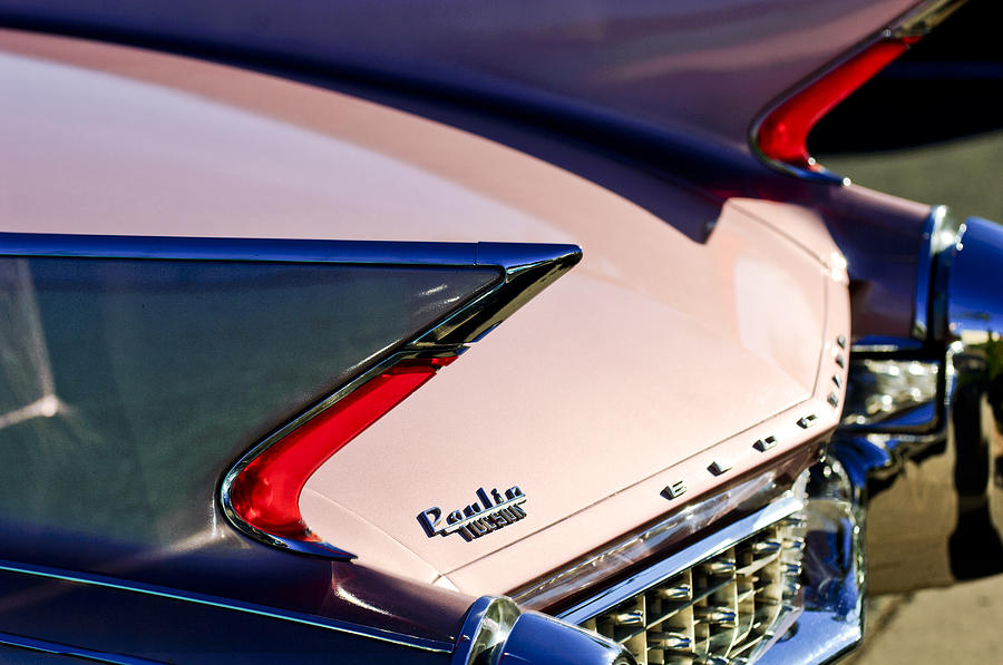 1960 Cadillac Eldorado Photograph - 1960 Cadillac Eldorado Taillights by Jill Reger