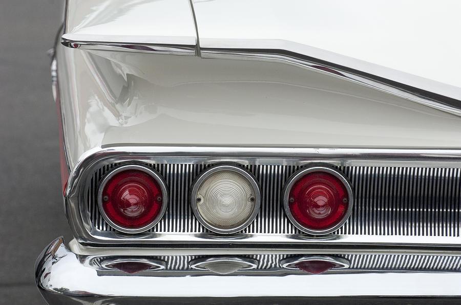 1960 Chevrolet Impala Photograph - 1960 Chevrolet Impala Tail Lights by Jill Reger
