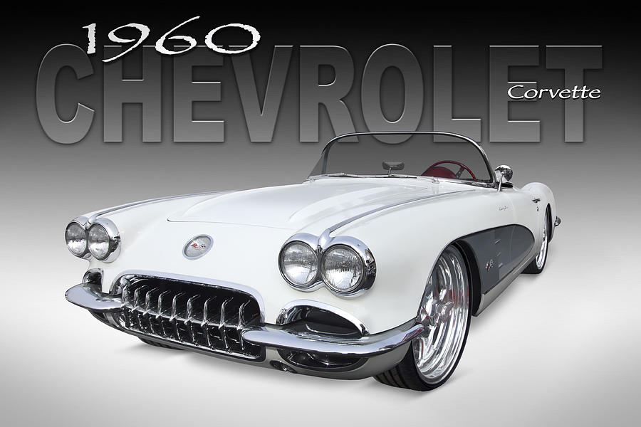 Chevy Photograph - 1960 Corvette by Mike McGlothlen