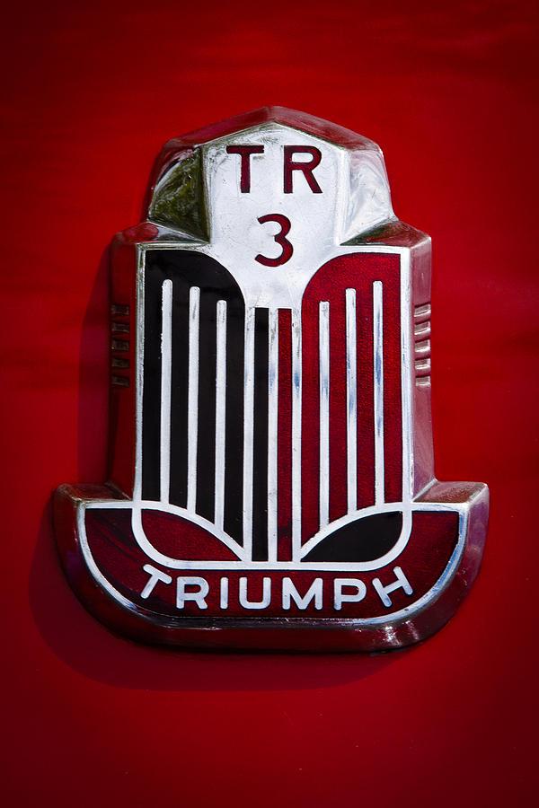 1960 Photograph - 1960 Triumph Tr3a by David Patterson