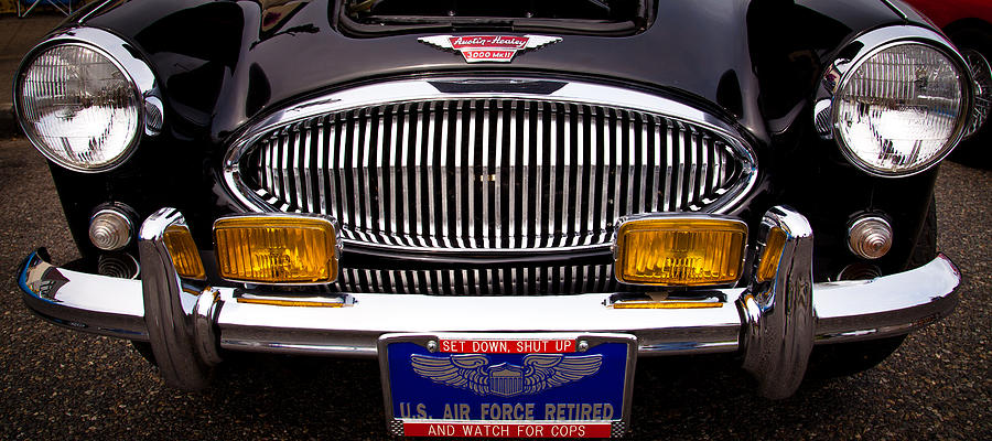 62 Photograph - 1962 Austin Healey 3000 Mkii by David Patterson