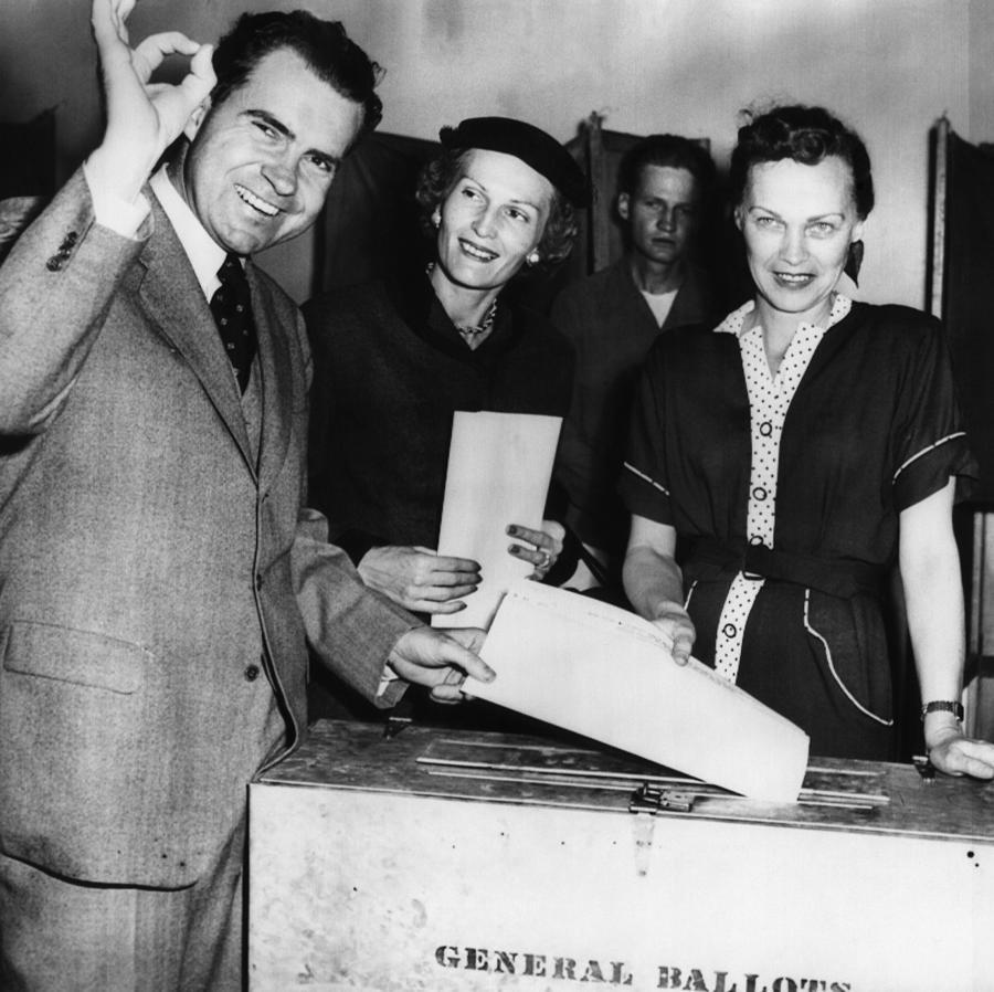 1950s Photograph - 1962 Presidential Election. Senator by Everett