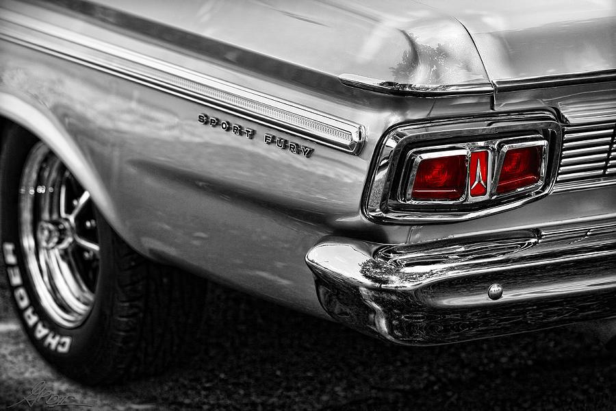 1964 Plymouth Sport Fury Photograph By Gordon Dean Ii