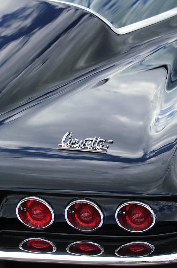 1966 Chevrolet Corvette Tail Lights by Jill Reger