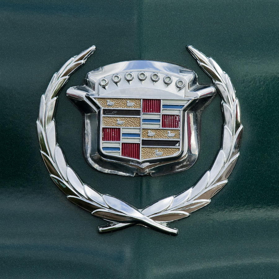 1969 Cadillac Eldorado Emblem 2 Photograph By Jill Reger
