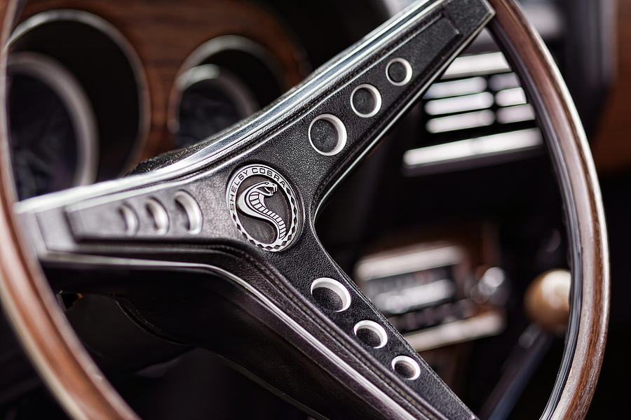 1969 Ford Mustang Shelby Cobra Gt500 Steering Wheel