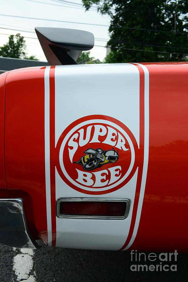 Coronet Photograph - 1970 Dodge Super Bee 1 by Paul Ward