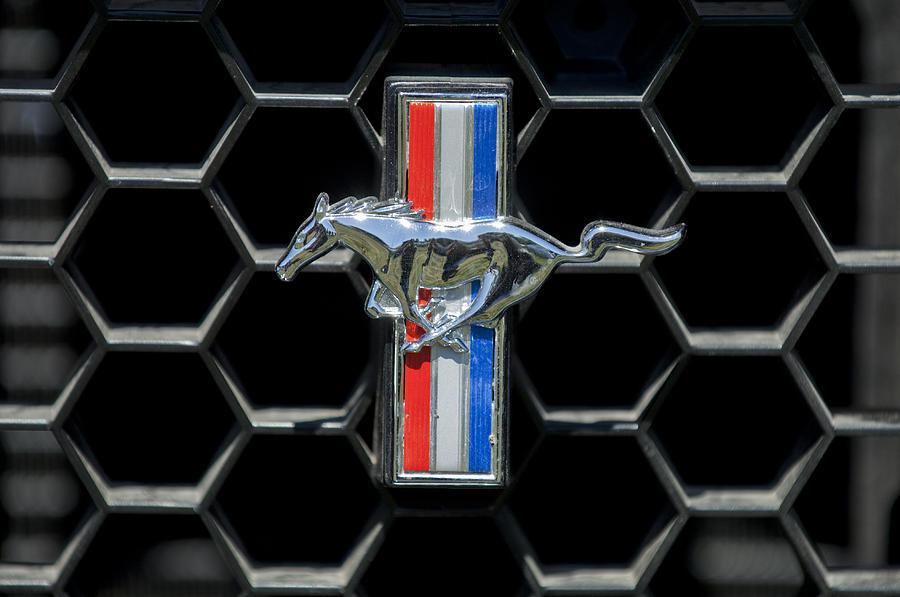 Ford Mustang Car Emblem