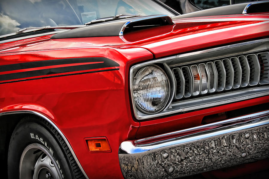 1971 Plymouth Duster 340 Photograph By Gordon Dean Ii