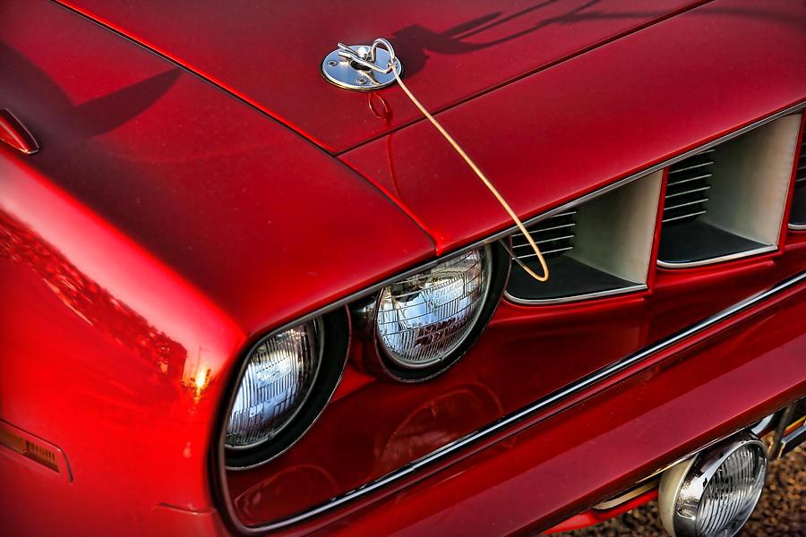 1971 Digital Art - 1971 Plymouth Hemi cuda by Gordon Dean II
