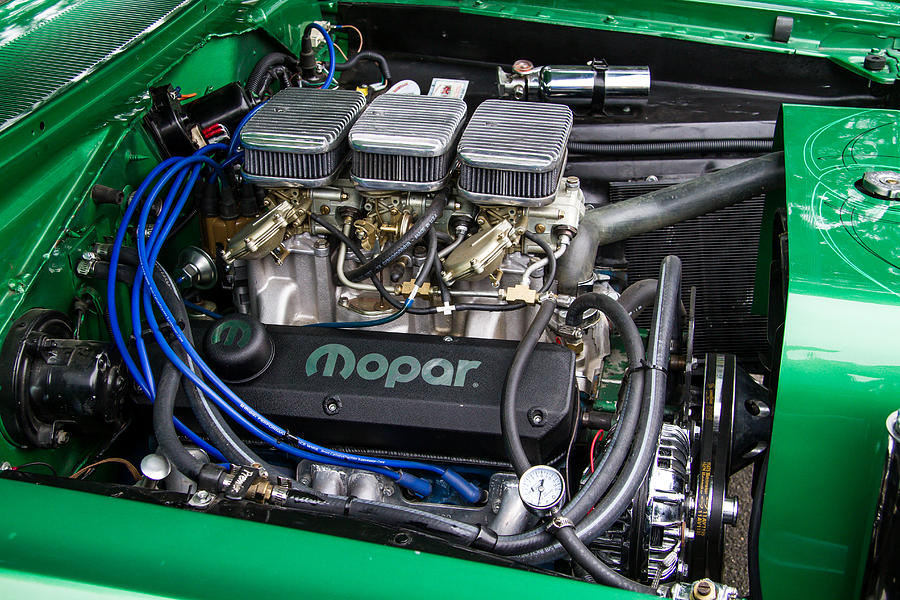 1972 plymouth duster engine photograph by roger mullenhour rh fineartamerica com 1972 plymouth duster 318 engine plymouth duster engine bay