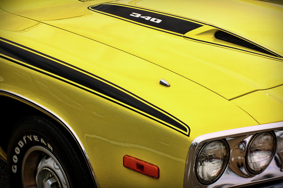 1973 Plymouth Road Runner 340 Photograph By Gordon Dean Ii